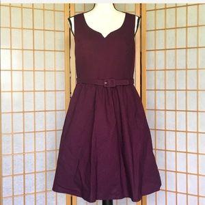 ModCloth NWOT Purple Sleeveless Cotton Dress